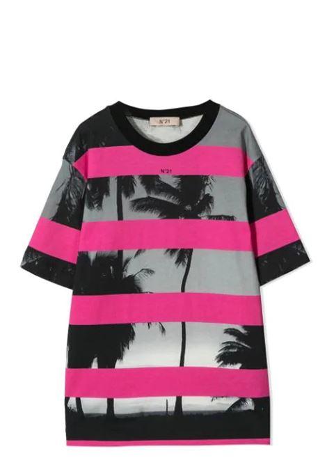 PRINT T-SHIRT N°21 KIDS | T-shirt | N21T57F-N21085-N00800N306