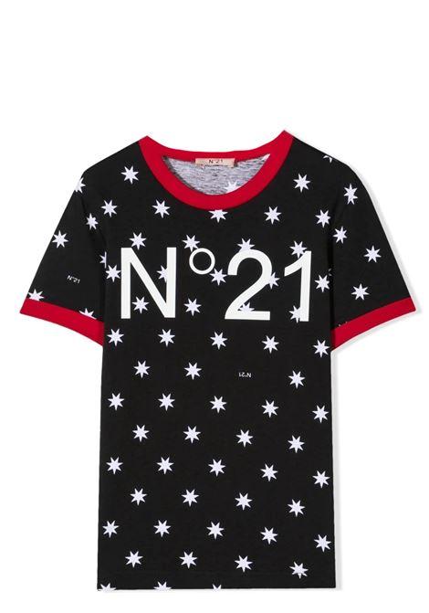 PRINT T-SHIRT N°21 KIDS | T-shirt | N21T68F-N21088-N01360N900