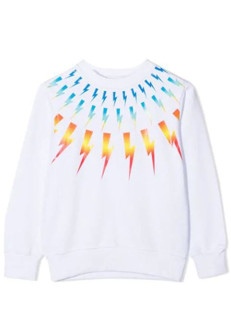 PRINT SWEATSHIRT  NEIL BARRETT KIDS | Sweatshirts | 027882T001