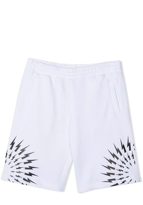 COTTON SHORTS  NEIL BARRETT KIDS | Bermuda | 027891001