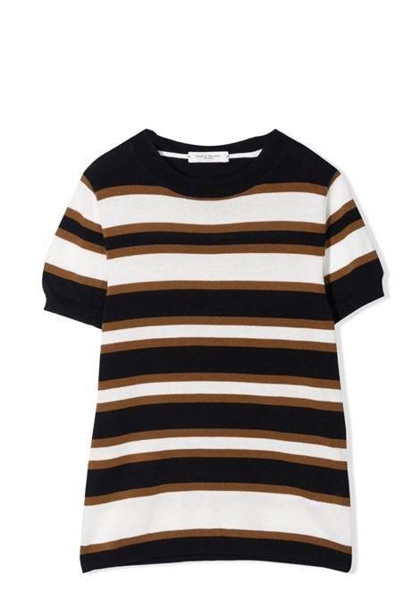 T-shirt bambino a righe PAOLO PECORA KIDS | PP259407