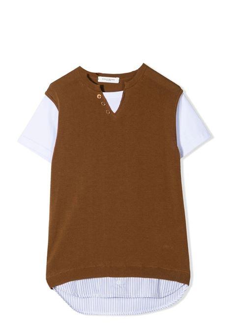 T-SHIRT BICOLORE PAOLO PECORA KIDS   T-shirt   PP2601T03
