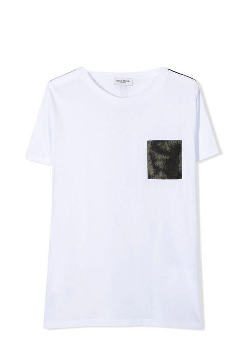 T-SHIRT CON TASCHINO PAOLO PECORA KIDS | T-shirt | PP266702