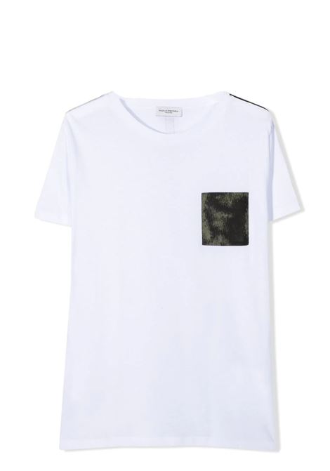 T-SHIRT CON TASCHINO PAOLO PECORA KIDS | T-shirt | PP2667T02