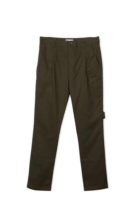 MILITARY GREEN TROUSERS PAOLO PECORA KIDS | Trousers | PP271204