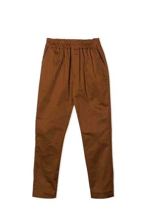 PANTS WITH ELASTICIZED WAIST PAOLO PECORA KIDS | Trousers | PP2721T03