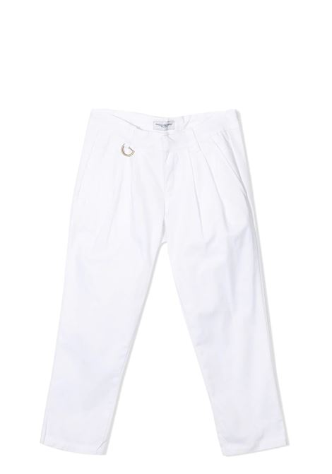 WHITE TROUSERS PAOLO PECORA KIDS | Trousers | PP273802