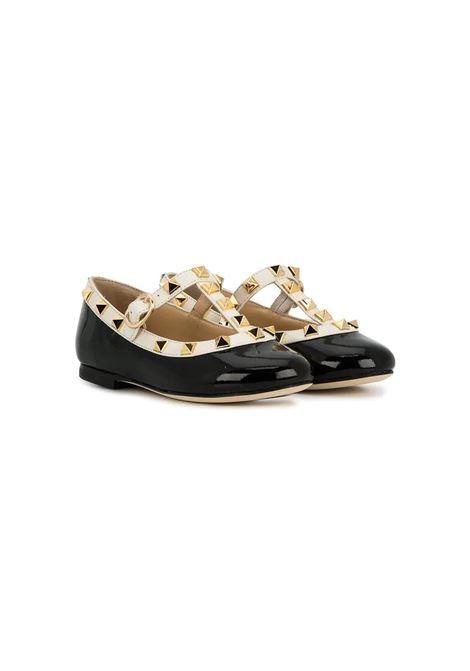GLOSSY BLACK BALLERINAS PROSPERINE | Balletshoes | T60101
