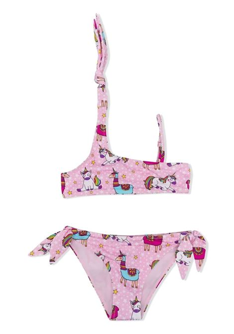 Girls two-piece swimsuit with print Saint barth kids | Swimsuits | AVAALPACORN 21