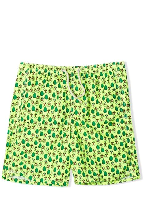 Child's swimsuit with avocado print Saint barth kids | Swimsuits | JEAN LIGHTINGTAVOCADO SUN94
