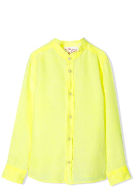 Neon yellow boy shirt Saint barth kids   PATI94