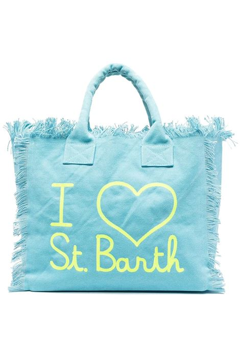 Borsa da donna azzurra Saint barth | Borse | VANITYELSB39