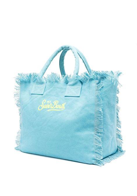 Light blue women's bag Saint barth | VANITYELSB39