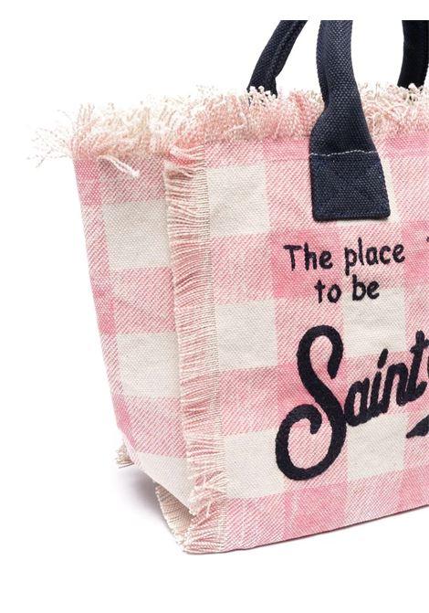 Checkered women's bag Saint barth | VANITYEV2161