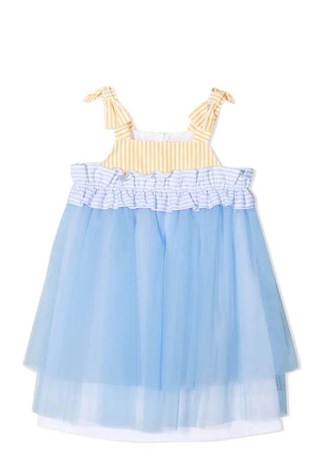 DRESS WITH TULLE SIMONETTA | Dress | 1O1172 OB720600