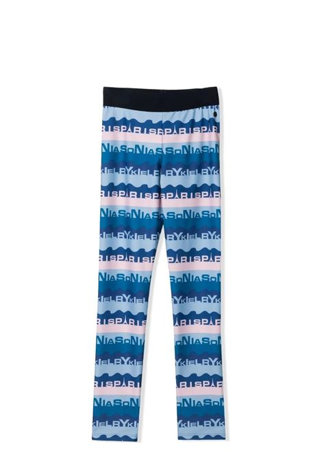 LEGGINGS WITH PRINT SONIA RYKIEL PARIS | Leggings | 21S1PA05TA015