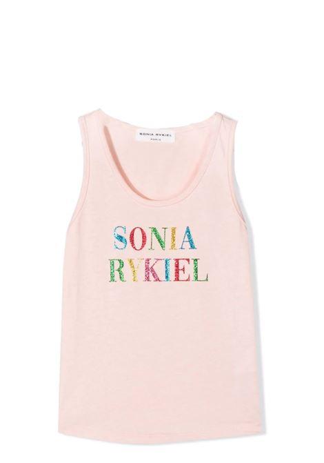 Tank top with glitter print SONIA RYKIEL PARIS | 21S1TS23TP008