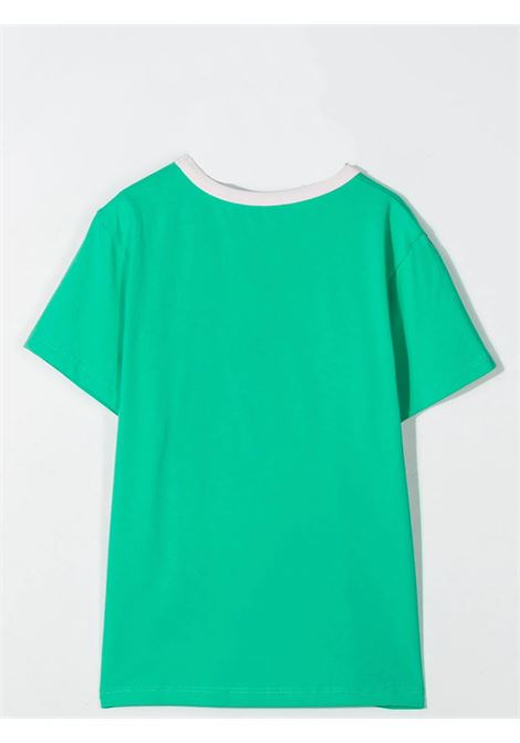T-SHIRT WITH SEQUIN PRINT THE MARC JACOBS KIDS | W15558T696