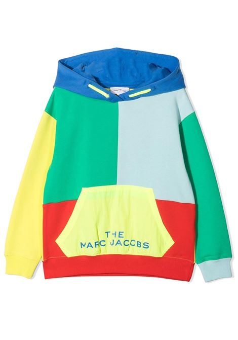 FELPA CON DESIGN COLOR-BLOCK THE MARC JACOBS KIDS | Felpe | W25478T56