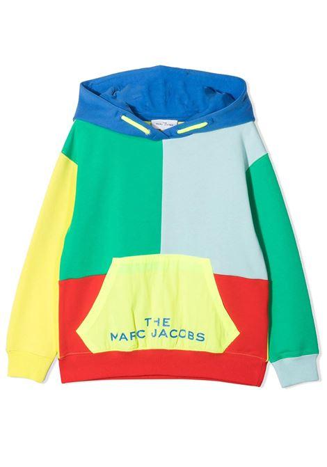 SWEATSHIRT WITH COLOR-BLOCK DESIGN THE MARC JACOBS KIDS | Sweatshirts | W25478T56
