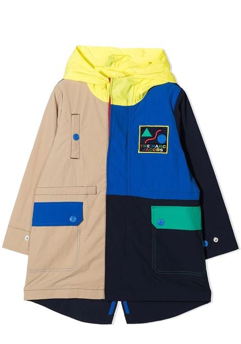 TRENCH CON DESIGN COLOR-BLOCK THE MARC JACOBS KIDS | Giubbini | W26113V82