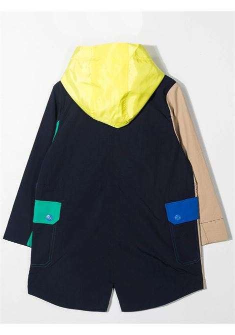 TRENCH WITH COLOR-BLOCK DESIGN THE MARC JACOBS KIDS | W26113V82