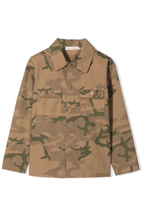 SHIRT-JACKET WITH CAMOUFLAGE PRINT ZHOE & TOBIAH KIDS | Jackets | RP193