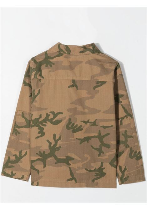 SHIRT-JACKET WITH CAMOUFLAGE PRINT ZHOE & TOBIAH KIDS | RP193