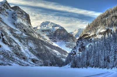 Lake Louise Crosscountry Ski Trail