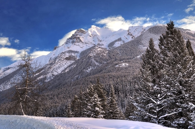 Mountains Winter Banff
