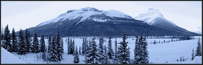 Winter Panorama Banff