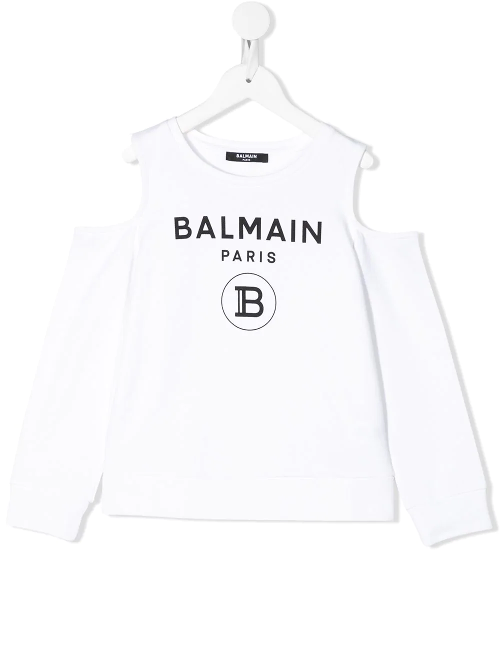 Felpa Balmain kids BALMAIN PARIS KIDS | -108764232 | 6M4020MX270100