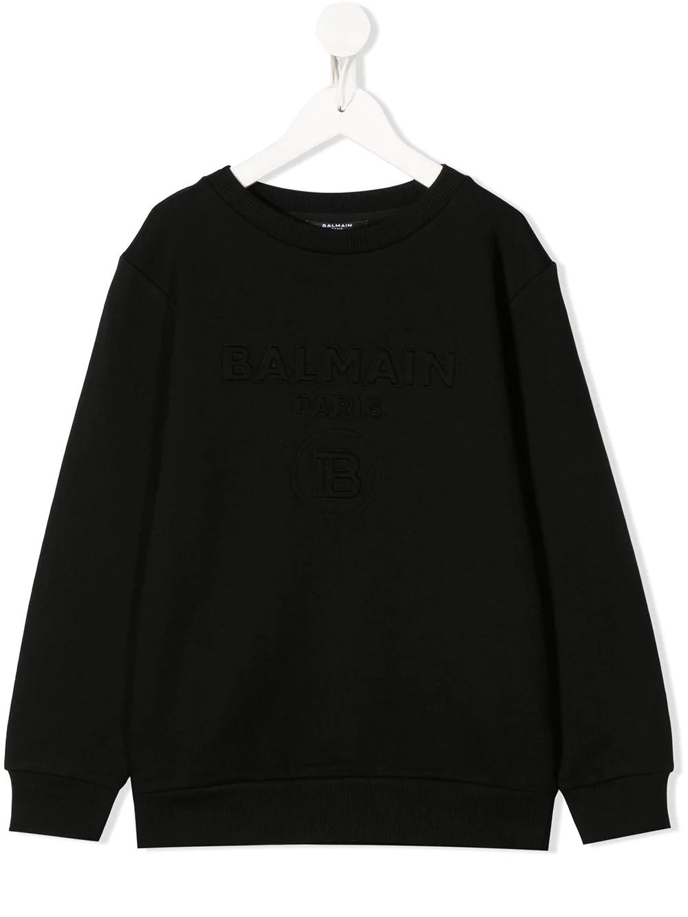 Sweatshirt Balmain kids  BALMAIN PARIS KIDS   -108764232   6M4740MX020930