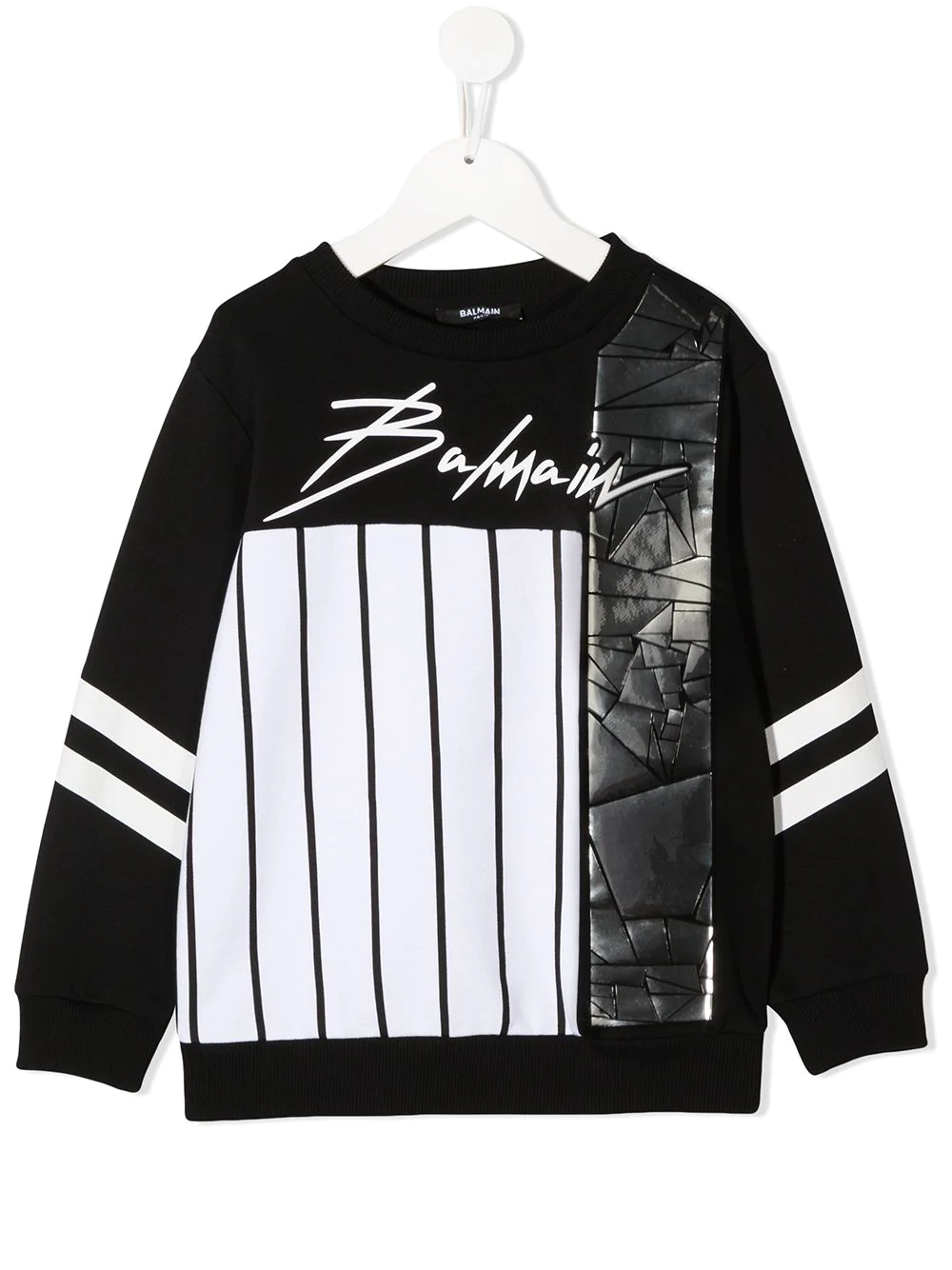 Sweatshirt wirth print BALMAIN PARIS KIDS | -108764232 | 6N4540NX300930AGT