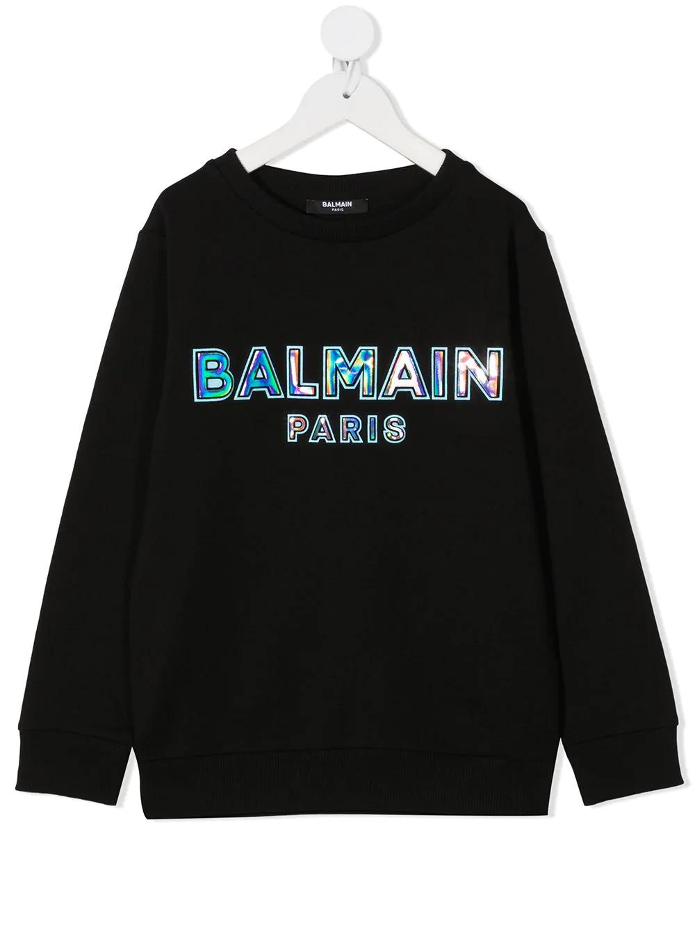 Felpa Balmain kids BALMAIN PARIS KIDS | -108764232 | 6N4580NX300930CE
