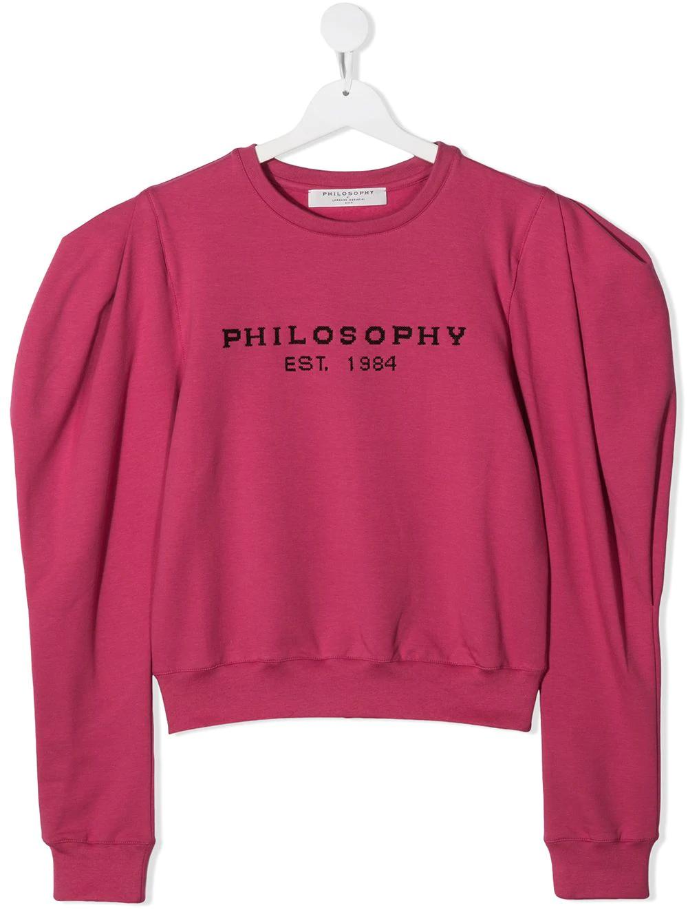 Felpa Philosophy kids PHILOSOPHY KIDS | -108764232 | PJFE34FE147ZH0020014