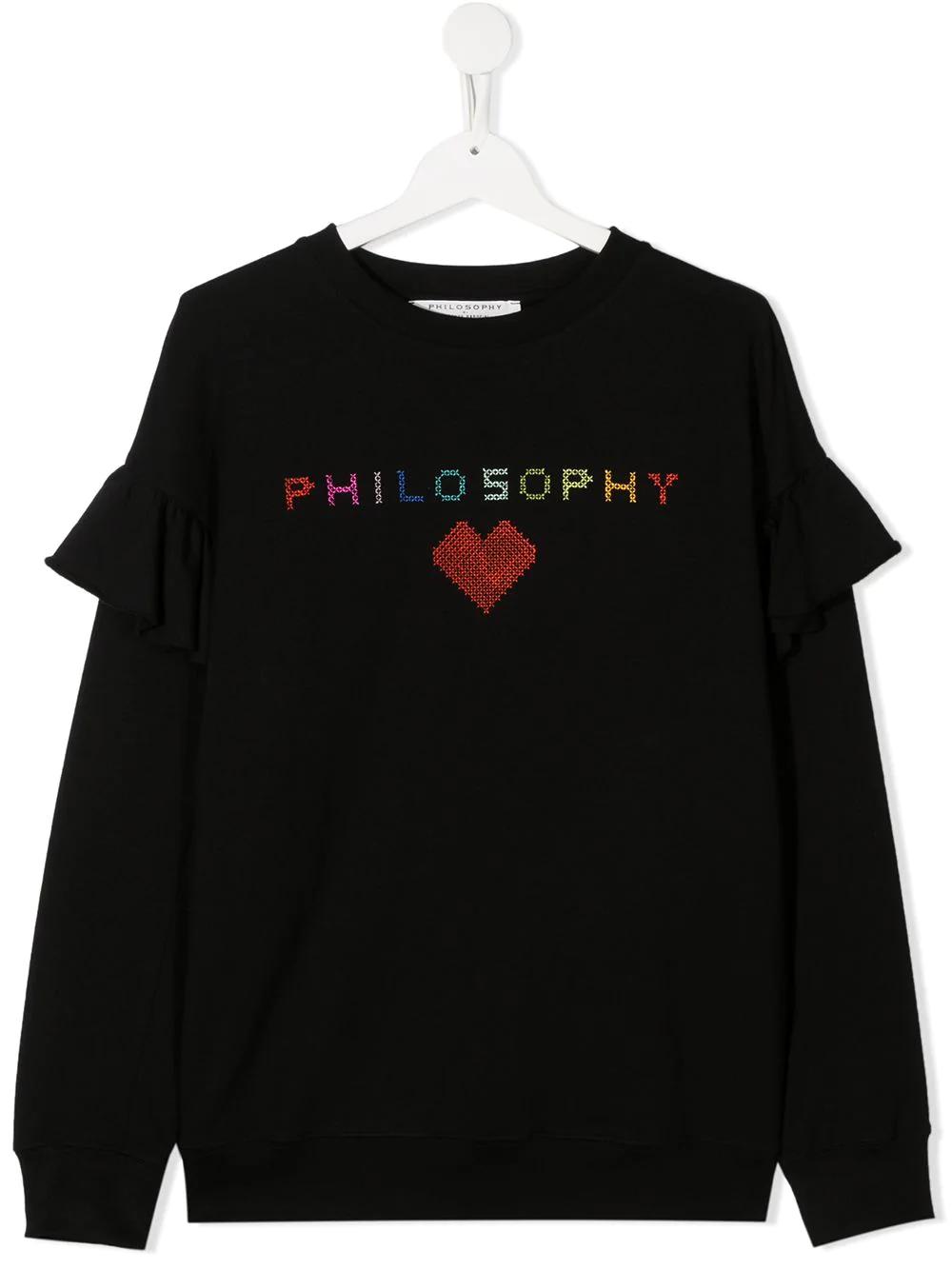 Felpa Philosophy kids PHILOSOPHY KIDS | -108764232 | PJFE41FE147ZH0050046T