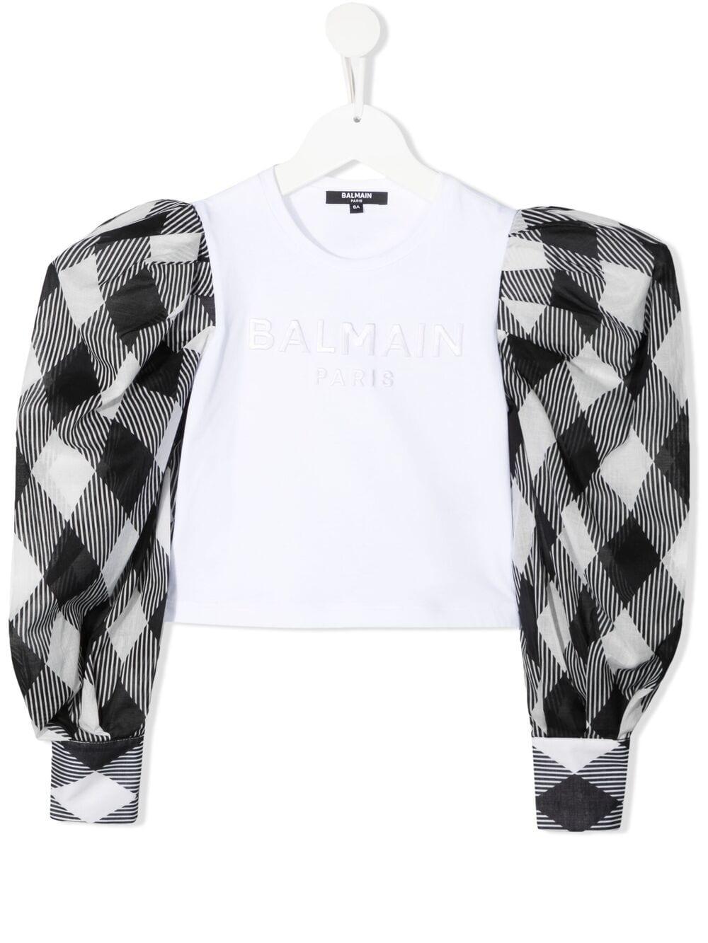 T-shirt Balmain kids BALMAIN PARIS KIDS   -108764232   6O8240OB690100NE