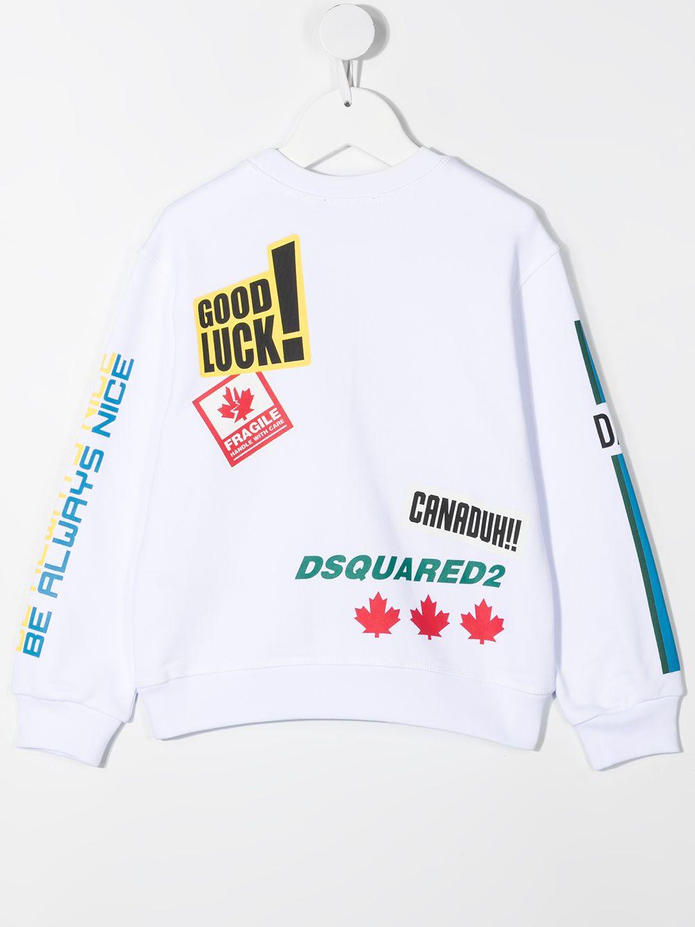Sweatshirt Dsquared2 kids DSQUARED2 KIDS | -108764232 | DQ0223D00J7DQ100T