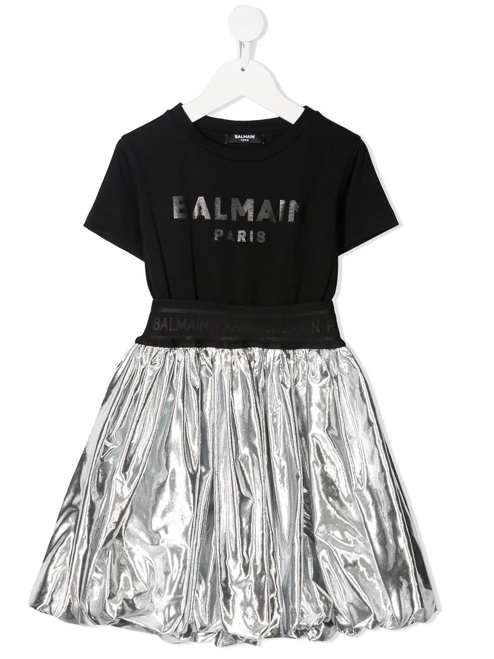 Dress Flared Balmain kids BALMAIN PARIS KIDS | 11 | 6O1191OB690930T