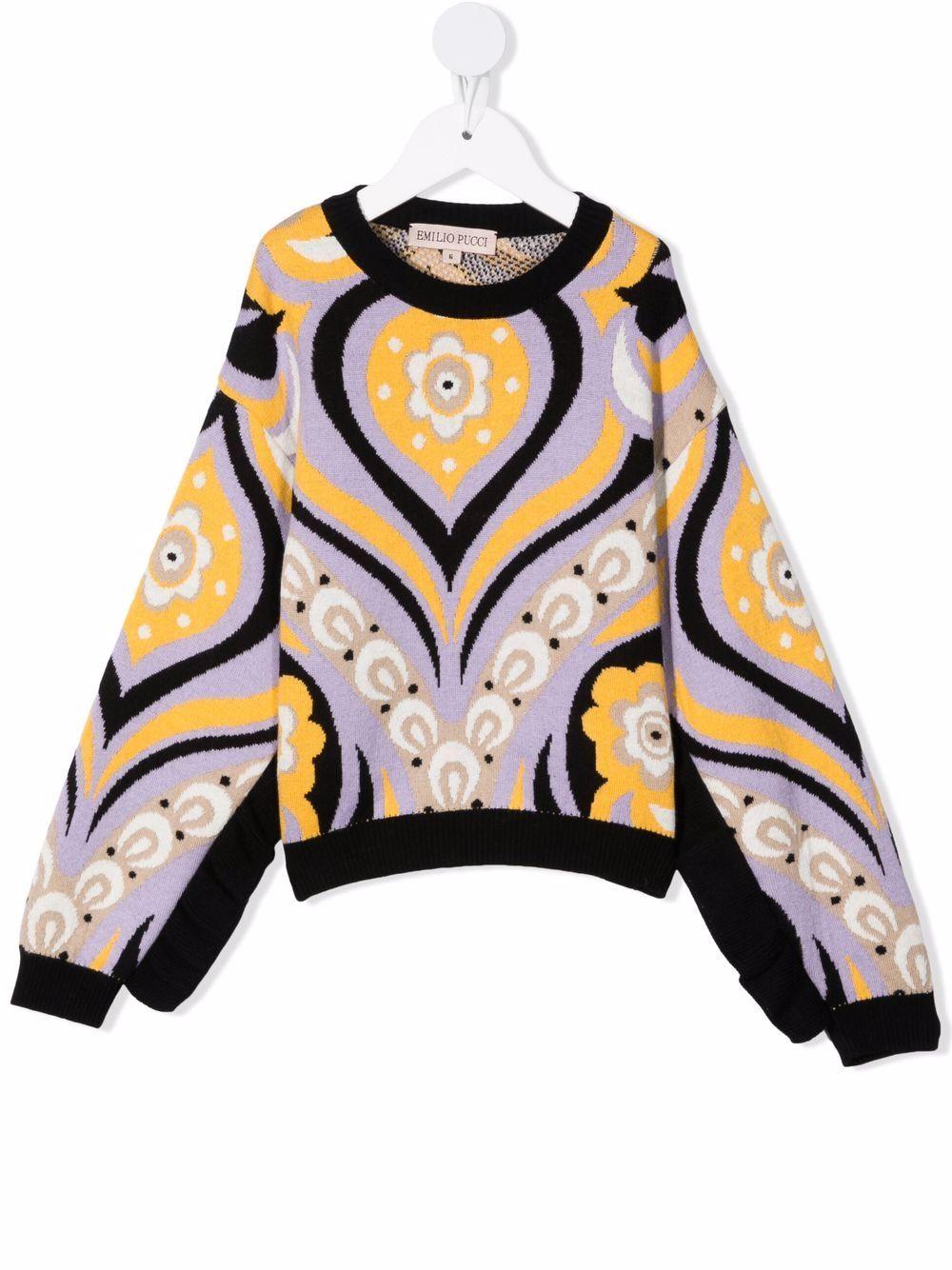 Maglione Emilio Pucci kids EMILIO PUCCI KIDS | 1 | 9P9030X0006203