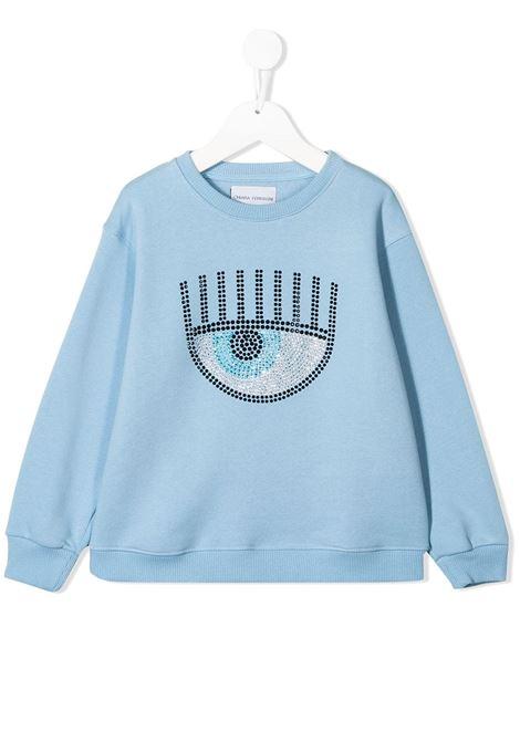 Felpa Chiara Ferragni Kids CHIARA FERRAGNI KIDS | -108764232 | 19AI-CFKF021CELESTE