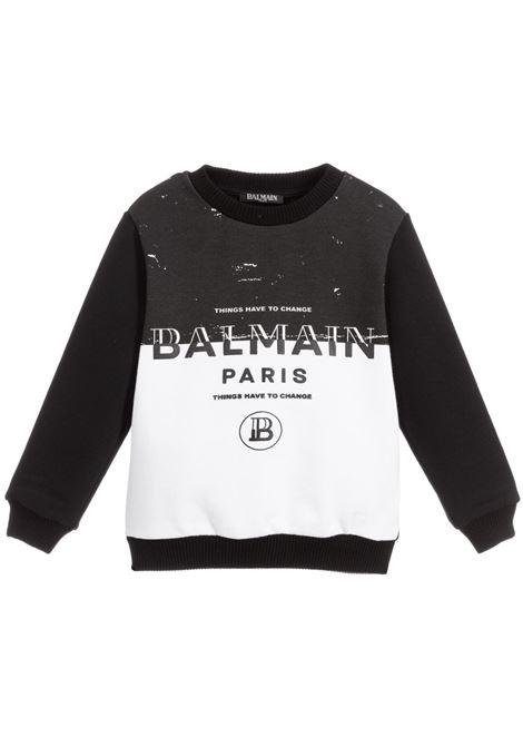 Felpa Balmain kids BALMAIN PARIS KIDS | -108764232 | 6M4510MA010100NE