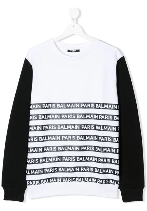 Felpa Balmain kids BALMAIN PARIS KIDS | -108764232 | 6M4520MX270100NE