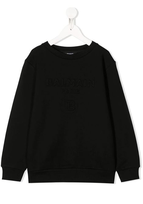 Felpa Balmain kids BALMAIN PARIS KIDS | -108764232 | 6M4740MX020930