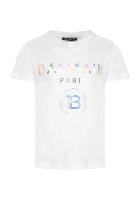 T-shirt Balmain kids BALMAIN PARIS KIDS | 8 | 6M8021MX030100MC