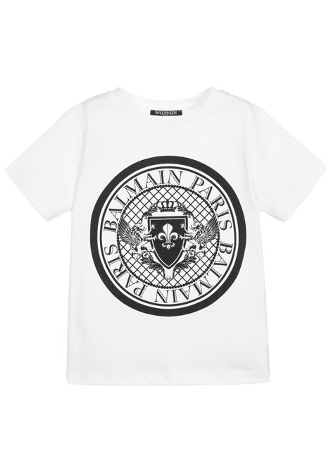 Tshirt Balmain kids  BALMAIN PARIS KIDS | 8 | 6M8091MX030100