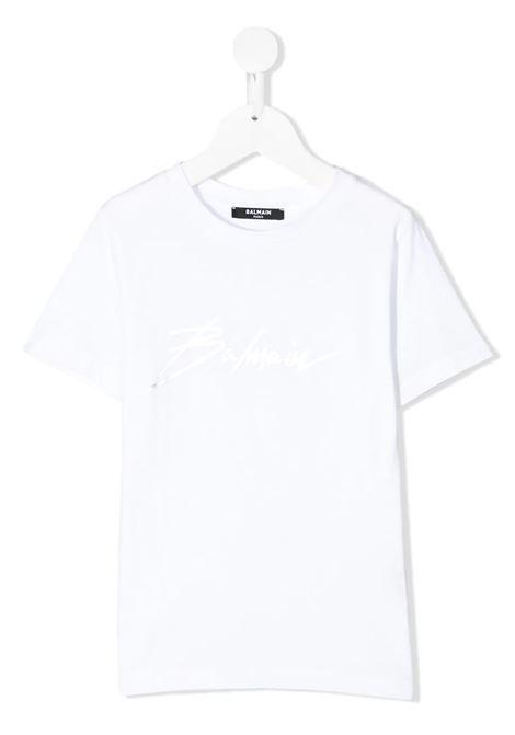 Tshirt Balmain kids  BALMAIN PARIS KIDS | 8 | 6M8741MX030100AG