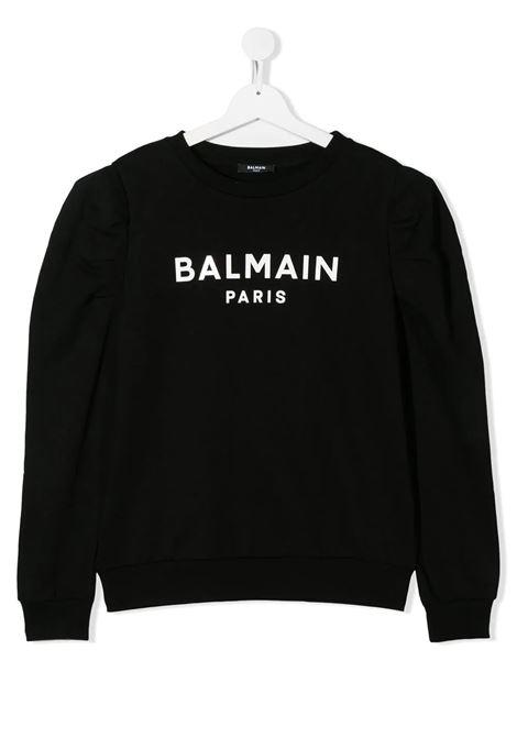 Felpa Balmain kids BALMAIN PARIS KIDS | -108764232 | 6N4030NX320930T