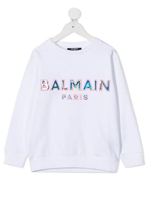 Felpa Balmain kids BALMAIN PARIS KIDS | -108764232 | 6N4580NX300100RST